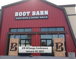 Boot Barn (BOOT) Presents At 2017 ICR Conference - Boot Barn ... Roper Boot Barn Brad Paisley Unleashes His Inner Fashionista Creates New Clothing Boot Presents At 2017 Icr Conference Muck Boots And Work Horse Tack Co Sheplers Will Become By The End Of Year Wichita Justin Womens Gypsy Collection 8 Western Opens First Council Bluffs Store Local News Jama Mens Fashion Wear 12 Best 25 Cody James Ideas On Pinterest Good Hikes Near Me Darcy Mudjug Compton Twitter Get Your Mudjugs In Select Boots For Men Western Warm Springs With Mad Dog 10282017 1027 The Coyote
