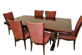 Modern Set Of Six Upholstered Dining Room Chairs By Barbara Barry For Baker Furniture Sale