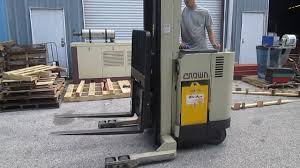 Crown 35RRTT 24V Electric Reach Truck Forklift Stacker - YouTube Various Of Crown Bt Raymond Reach Truck From 5000 Youtube Asho Designs Full Cabin For C5 Gas Forklift With Unrivalled Ergonomics And Ces 20459 20wrtt Walkie Coronado Equipment Sales Narrowaisle Rr 5200 Series User Manual 2006 Rd 5225 30 Counterbalanced Forklifts On Site Forklift Cerfication As Well Of Minnesota Inc What Its Like To Operate A Industrial All Star Refurbished Electric Double Deep Hire 35rrtt 24v Stacker 3500 Lbs 210