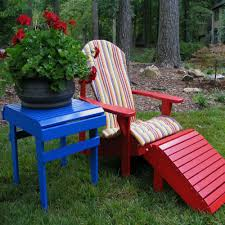 Red Patio Furniture Decor by Shop Castanet Beach Adirondack Chair Cushion Weathercraft
