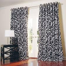 beautifuldesignns Zebra Print Curtains