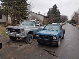 100 Old School Truck School Squares S