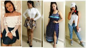 Teenage Girls Fashion Trend Ashika Bhatiya Lookbook 2017