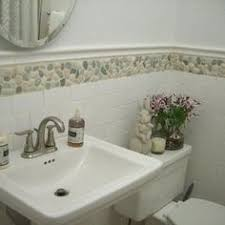 bathroom tile border home interior design ideas