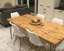 Cheap Dining Room Sets Uk by Kitchen U0026 Dining Tables Etsy Uk