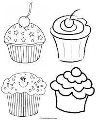 Cupcake black and white cupcake