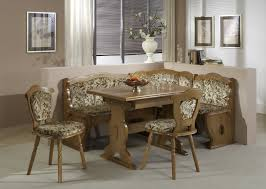 Kitchen Booth Ideas Furniture by Furniture Natural Wooden Breakfast Nook Kitchen Table Using