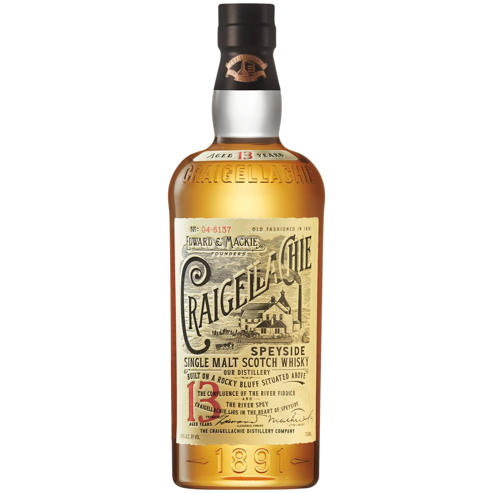 Craigellachie 13yr. Single Malt Scotch