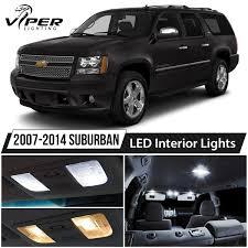 2007-2014 Chevy Suburban White LED Interior Lights Package Kit | EBay