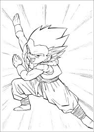 Dragon Ball Z 10 Coloring Page