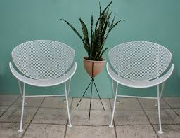 Salterini Iron Patio Furniture by Lovely Salterini Patio Furniture Vtg Mid Century Salterini Orange