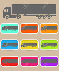 Icon Trucks With Refrigerator. Royalty Free Cliparts, Vectors, And ...