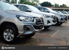 100 Compact Trucks For Sale Bangkok Thailand May 2018 Row New Pickup Toyota Stock