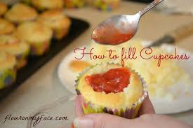 How to fill cupcakes with a homemade strawberry sauce filling