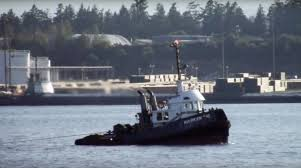 Tug Boat Sinks by Crew Forced To Abandon Ship As Tugboat Sinks Off Vancouver Ctv