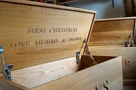 a personalised wooden toy box toy box fit for a prince mmss