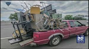 State Police Stop Overloaded Truck On I-91 In Springfield