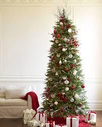 Luxury Idea Slim Tree Christmas Uk White Clearance Canada Flocked Decorating Ideas Costco