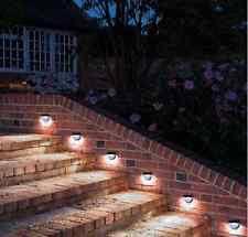 retaining wall lights lighting exterior wireless solar led l