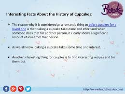 5 Bookthecake Interesting Facts About The History Of Cupcakes