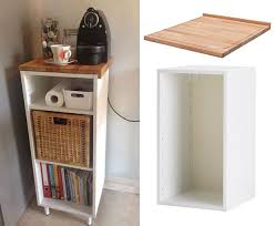 Pantry Cabinet Ikea Hack by 10 Best Ikea Hacks For A Small Apartment Kitchen U2013 Jewelpie