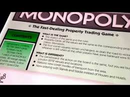 London Olympic Games 2012 Monopoly Edition Board Game RULES SPEED GAME HOW TO PLAY INSTRUCTIONS