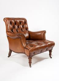 Victorian Leather Armchair Howard And Sons - Loveday Antiques Early Victorian Mahogany And Leather Armchair C 1850 United 19th Century Pair Of English Armchairs For Sale Stunning Antique Marylebone Antiques Quality 1870 England From Deep Buttoned C1850 429276 Burgundy Gentlemans Chairs Accent Chair Whit Oval Back And Arm Occasional Ideas