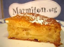 photo 3 de recette gâteau aux pommes facile marmiton miam