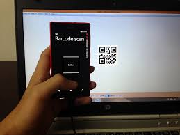 button s click we call Scan method to scan barcode and then display the result in message box Let s hit F5 and see this small app in action