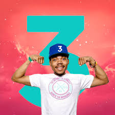 Alternate Album Art I Made For Coloring Book Chance 3