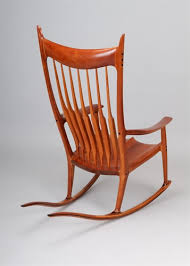 sam maloof rocking chair class a and important cherry rocking chair by sam maloof on artnet