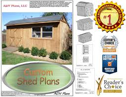 10x20 Shed Floor Plans by 10x20 Gable Shed Plans Large Shed Plans Step By Step Download