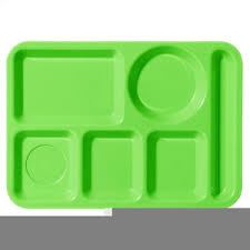 Lunch Trays Clipart Image