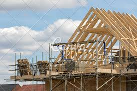 100 House Trusses Construction Industry Timber Framework Of House Roof