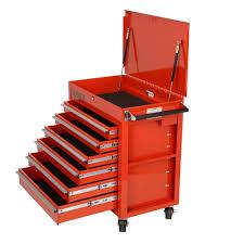 100 Service Truck Tool Drawers Premium Full Drawer Cart Red Sunex S