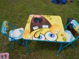 Find More Spongebob Kids Folding Table And Chairs For Sale At Up To ... Spongebob Kids Table And Chairs Set Themed Timothygoodman1291 Spongebobs Room Crib Bedding Squarepants Activity Amazoncom 4sea Square Pants Directors Chair Clutch Childrens Soft Slipper Slipcover Cute Spongebob Party Up Chair So I Was Walking With My Roommate To Get Flickr Toddler Bedroom Bundle Bed Toy Bin Organizer Liuyan Placemats Sea Placemat Washable Nickelodeon Squarepants Bean Bag Walmartcom Pizza Deliverytranscript Encyclopedia Spongebobia Fandom Cheap Find Deals On Line Toys Wallpaper Theme Decoration