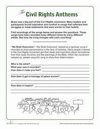 Civil Rights Crossword