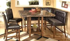 Ashley Furniture Counter Height Dining Set Room Beautiful Table New Bar With Bench High Tables