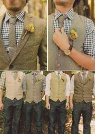 Patterened Shirts With Waist Coat Casual Wedding Outfits For Men 18