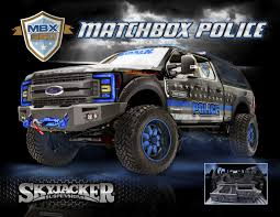100 Ford Police Truck MBX350 Matchbox Super Duty Concept Comes To Life At SEMA
