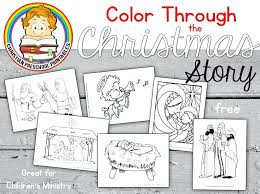 Free Bible Coloring Pages To Print Stories Preschoolers Corresponsables Co
