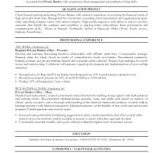 Banking Resume Samples Sample Investment Analyst Banker Template