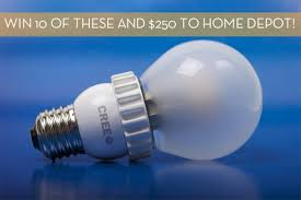 curbly giveaway win a 250 home depot gift card and 10 cree led