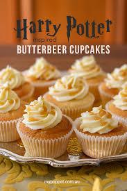 Easy Butterbeer Cupcakes