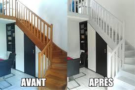 peindre un escalier sans poncer ides de dcoration pour repeindre un escalier en bois sans poncer