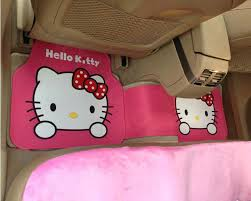 Cute Auto Floor Mats by Buy Wholesale Cute Hello Kitty Cartoon Universal Automotive Carpet