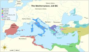 Where Did The Lusitania Sink Map by Second Punic War Wikipedia