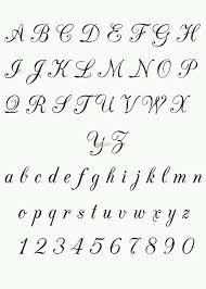 letter design for tattoos Asafonec