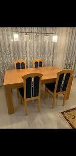 esstisch mit stühle und bank eur 150 00 picclick de