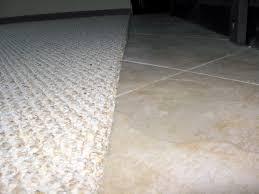 tile to carpet threshold carpet flooring ideas